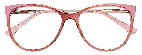 Armação Óculos Receituário AT 2120 Rosé/Rosa