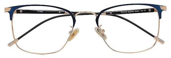 Armação Óculos Receituário AT 3205 Azul