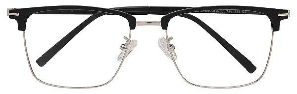Armação Óculos Receituário AT 3108 Preto