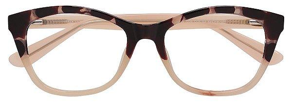 Armação Óculos Receituário AT 1006 Animal Print