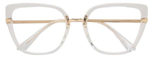 Armação Óculos Receituário AT 206041 Transparente