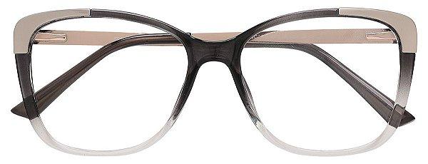 Armação Óculos Receituário AT 2118 Preto Degradê