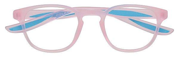 Armação Óculos Receituário Infantil AT 1072 Rosa/Azul (03 A 08 Anos)