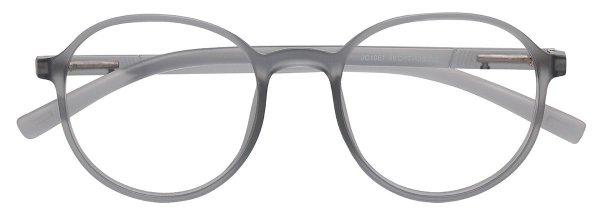 Armação Óculos Receituário AT 1051 Cinza Transparente