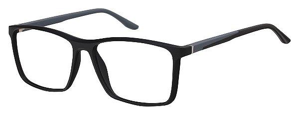 Armação Óculos Receituário AT 1076 Preto/Cinza