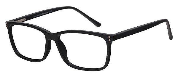 Armação Óculos Receituário AT 1021 Preto