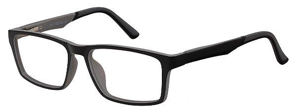 Óculos Receituário Infantil AT 2093 Preto/Cinza (12 A 17 Anos)