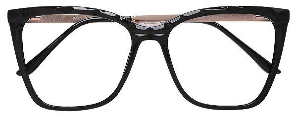 Armação Óculos Receituário AT 2114 Preto