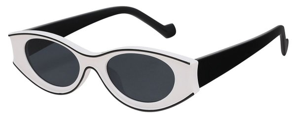Óculos de Sol Feminino AT 13021 Branco/Preto