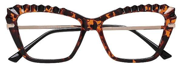 Armação Óculos Receituário AT 2105 Tartaruga