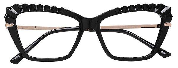 Armação Óculos Receituário AT 2105 Preto