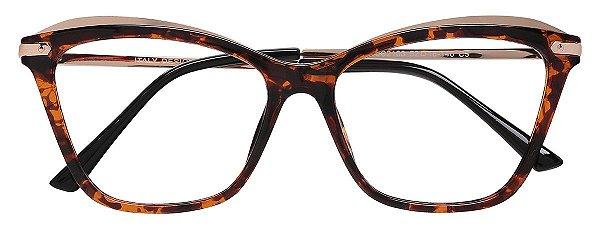 Armação Óculos Receituário AT 2103 Tartaruga