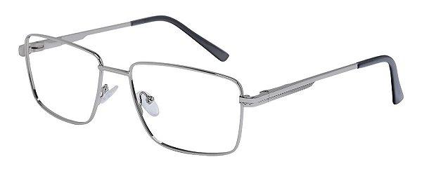Armação Óculos Receituário AT 1087 Prata