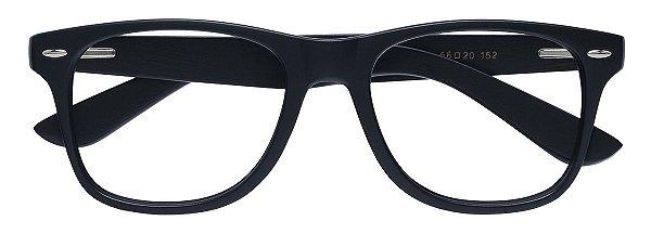 Armação Óculos Receituário AT 206015 Preto/Madeira