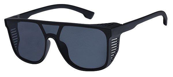 Óculos de Sol Unissex AT 7007 Preto Alok
