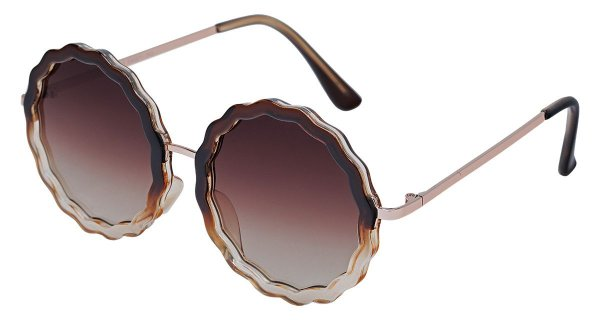 Óculos de Sol Feminino AT 72163 Marrom Degradê