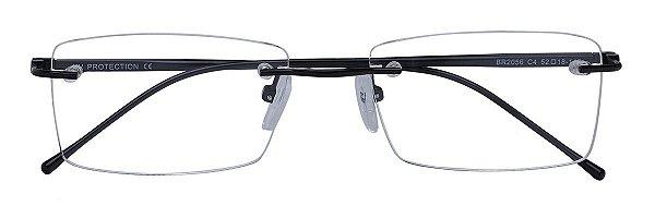Armação Óculos Receituário AT 2056 Preto