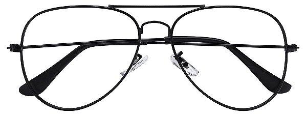 Armação Óculos Receituário AT 3004 Preto