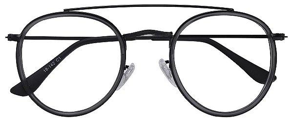 Armação Óculos Receituário AT 3002 Preto