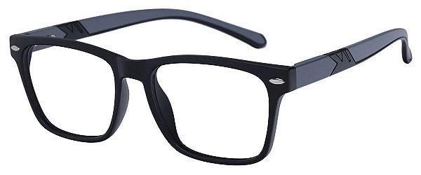 Armação Óculos Receituário AT 1079 Preto/Cinza