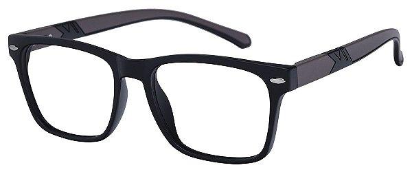 Armação Óculos Receituário AT 1079 Preto/Marrom
