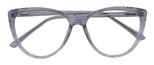 Armação Óculos Receituário AT 1071 Cinza Degradê