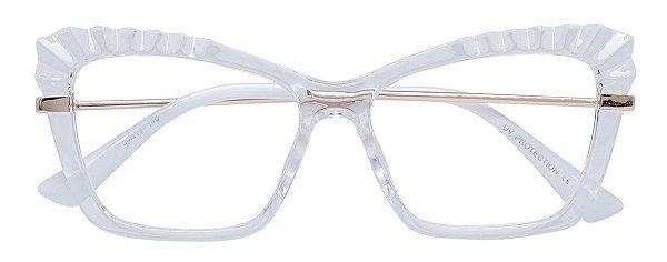 Armação Óculos Receituário AT 5663 Transparente