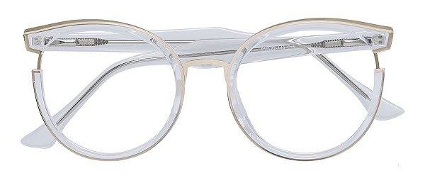 Armação Óculos Receituário AT 68268 Transparente