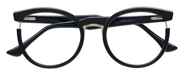 Armação Óculos Receituário AT 68268 Preto