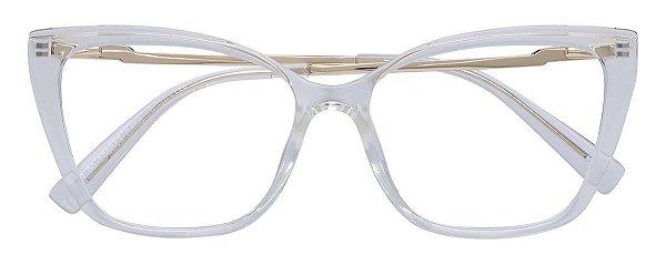 Armação Óculos Receituário AT 206043 Transparente