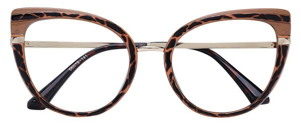 Armação Óculos Receituário AT 206042 Animal Print