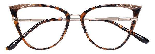 Armação Óculos Receituário AT 5255 Tartaruga