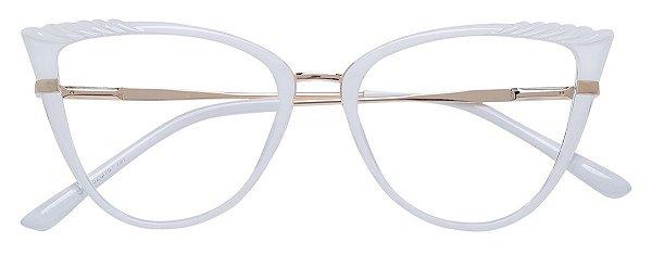 Armação Óculos Receituário AT 5255 Branco