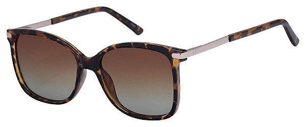Óculos de Sol Feminino AT 6009 Tartaruga