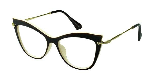c752df1b9 Óculos Receituário AT02040 Marrom - Atacadão da Ótica ...