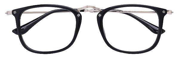 Armação Óculos Receituário AT 9089 Preto