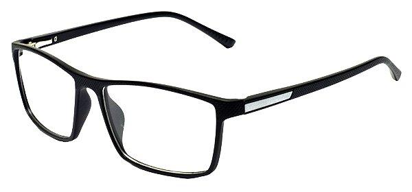 Armação Óculos Receituário AT 1027 Preto/Gelo