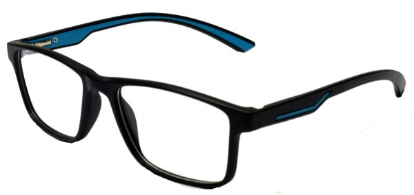 Armação Óculos Receituário AT 1025 Preto/Azul