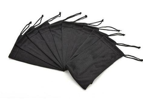 Case Saquinho Capa Protetora para Óculos Receituário e Solar Preto
