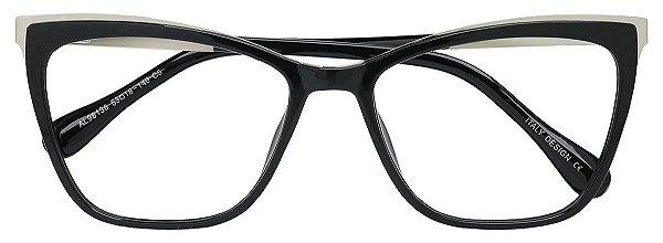 Armação Óculos Receituário AT 98136 Preto