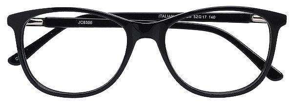 Armação Óculos Receituário AT 6356 Preto