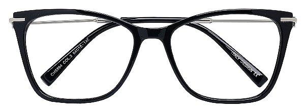 Armação Óculos Receituário AT 5594 Preto