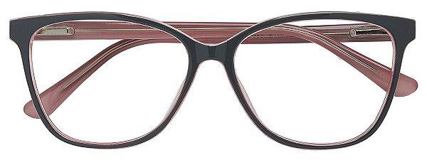 Armação Óculos Receituário AT 3330 Cinza/Rose