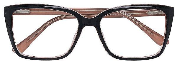 Armação Óculos Receituário AT 3327 Preto/Nude