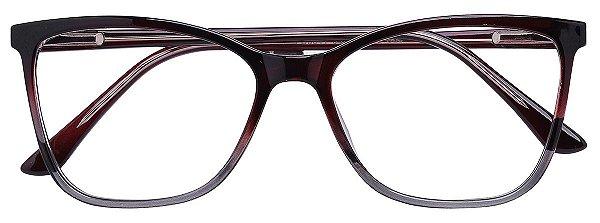 Armação Óculos Receituário AT 3341 Marrom