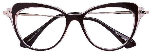 Armação Óculos Receituário AT 5584 Vinho