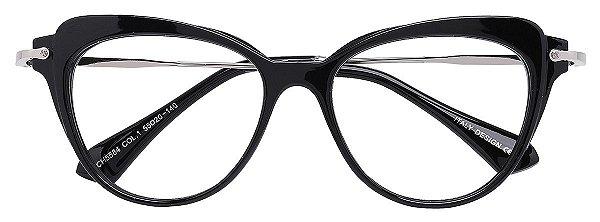 Armação Óculos Receituário AT 5584 Preto