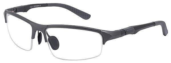 Armação Óculos Receituário AT 3001 Grafite