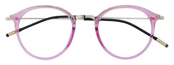 Armação Óculos Receituário AT 9091 Rosa