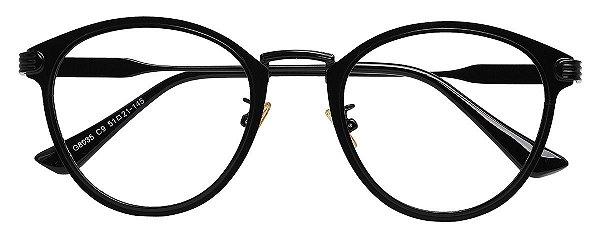 Armação Óculos Receituário AT 8035 Preto